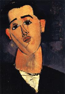 Amedeo Modigliani Portrait of Juan Gris oil painting image