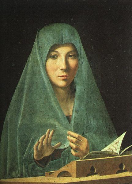 Antonello da Messina Virgin Annunciate oil painting image