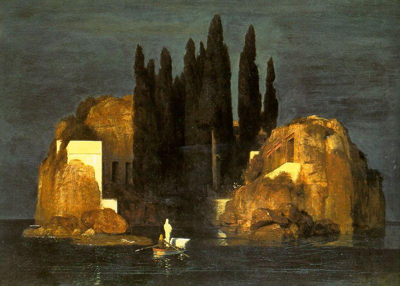Arnold Bocklin The Isle of the Dead oil painting image