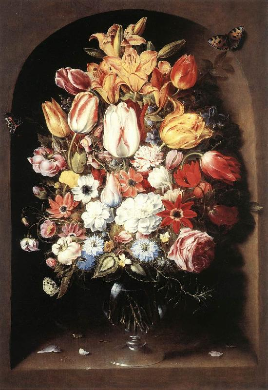 BEERT, Osias Bouquet in a Niche oil painting image