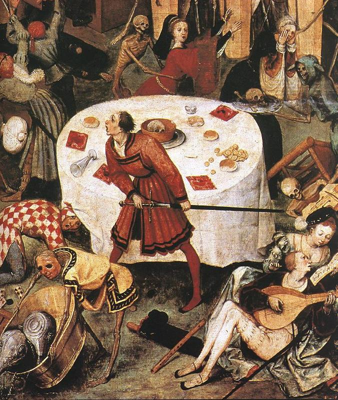 BRUEGEL, Pieter the Elder The Triumph of Death (detail) g oil painting image