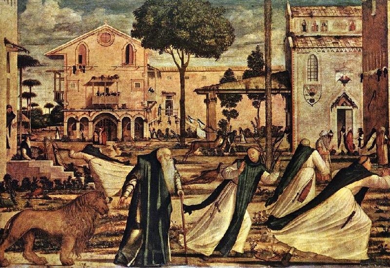 CARPACCIO, Vittore St Jerome and the Lion dsf oil painting image