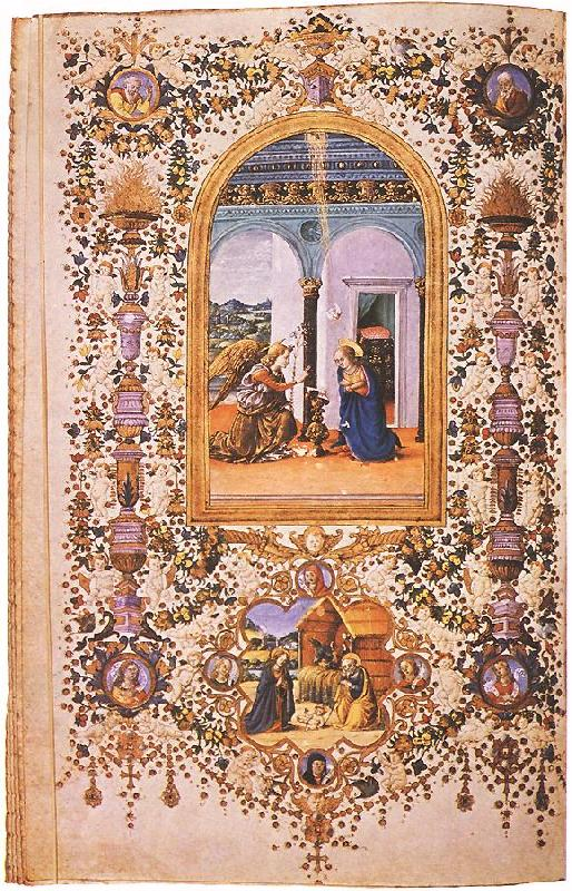 CHERICO, Francesco Antonio del Prayer Book of Lorenzo de' Medici  jkhj oil painting image