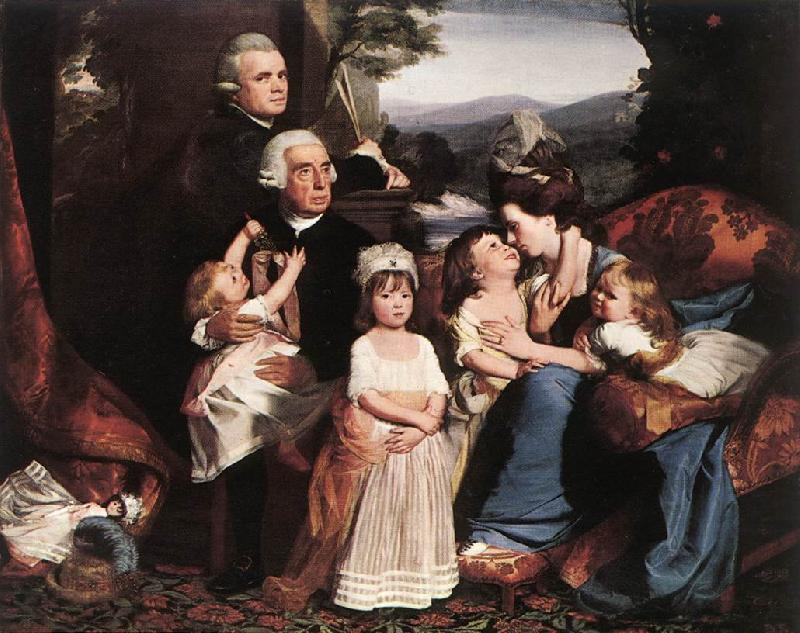 COPLEY, John Singleton The Copley Family dsf oil painting image