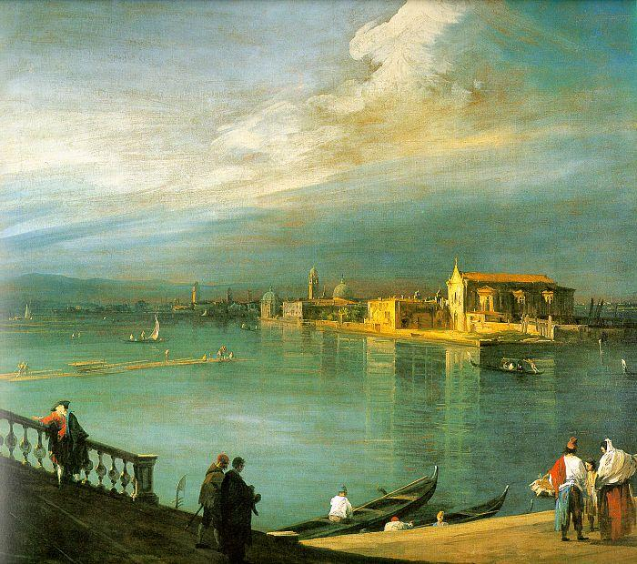 Canaletto San Cristoforo, San Michele Murano oil painting image