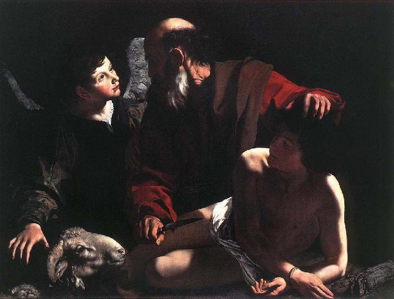 Caravaggio The Sacrifice of Isaac oil painting image