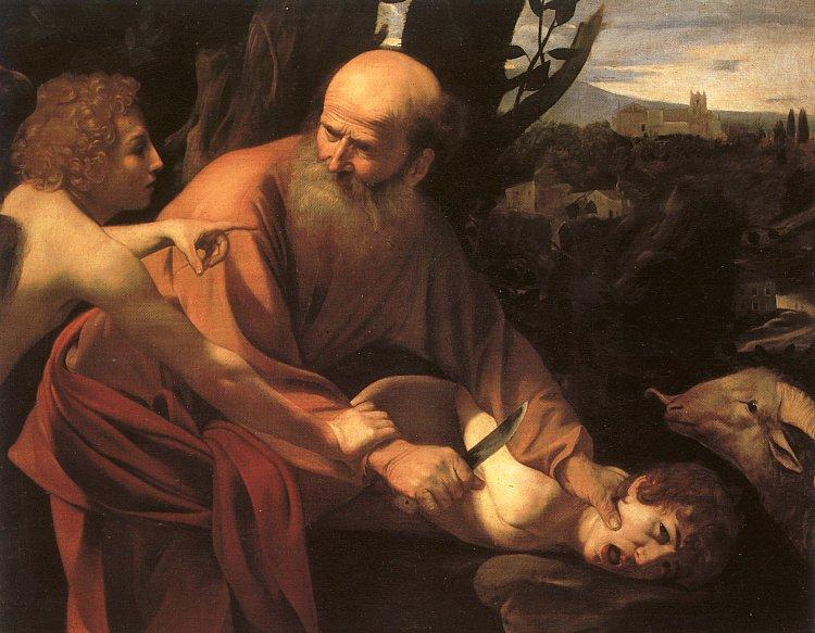 Caravaggio The Sacrifice of Isaac_2 oil painting image