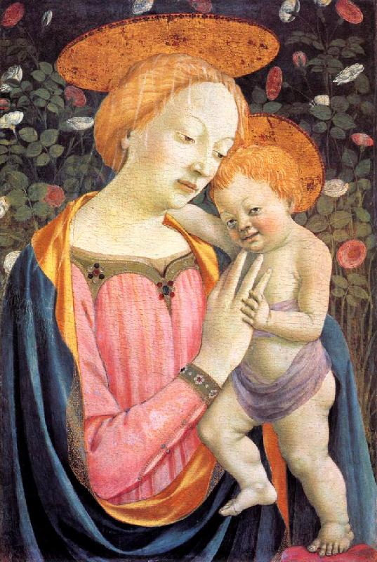 DOMENICO VENEZIANO Madonna and Child dfgw oil painting image