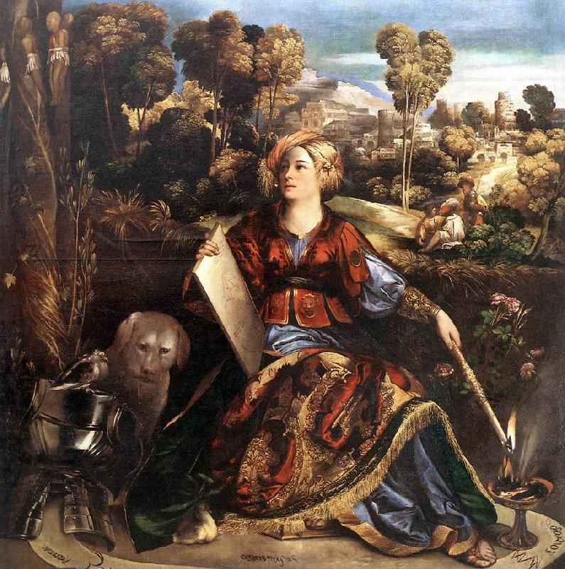 DOSSI, Dosso Circe (or Melissa) dfgd oil painting image