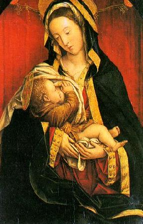 Defendente Ferarri Madonna and Child 9 oil painting image