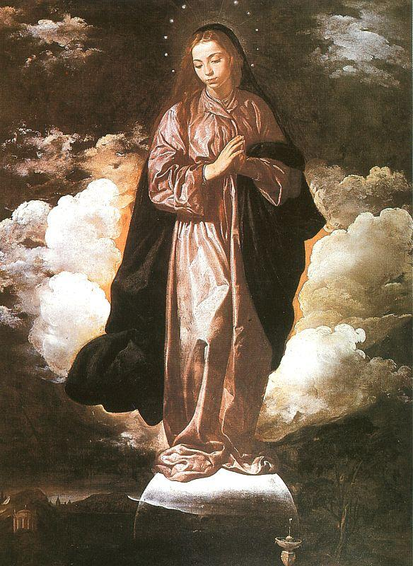 Diego Velazquez The Immaculate Conception oil painting image