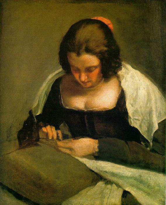 Diego Velazquez The Needlewoman oil painting image