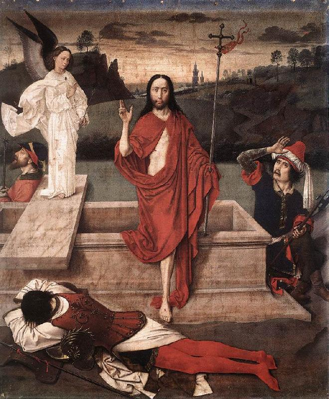 Dieric Bouts Resurrection oil painting image