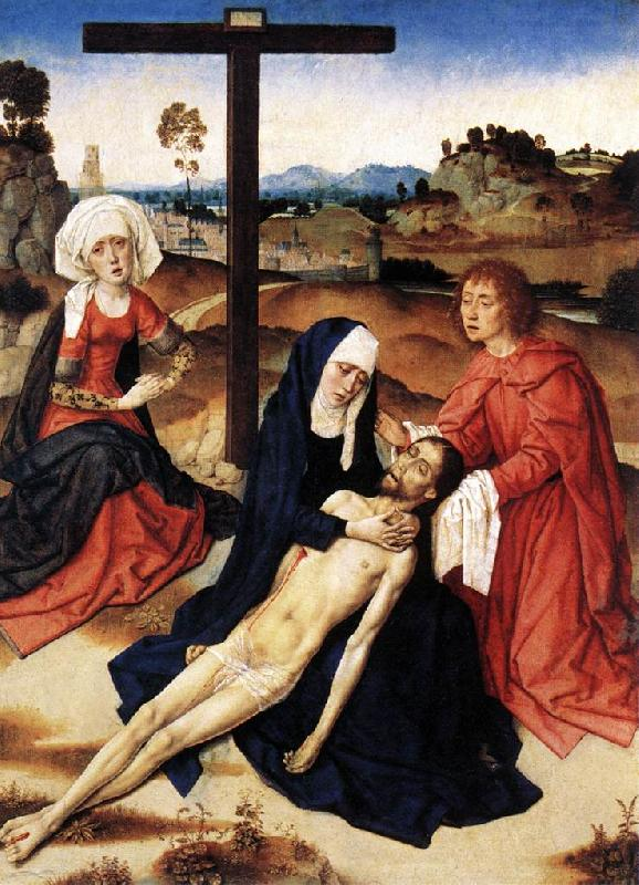 Dieric Bouts The Lamentation of Christ oil painting image