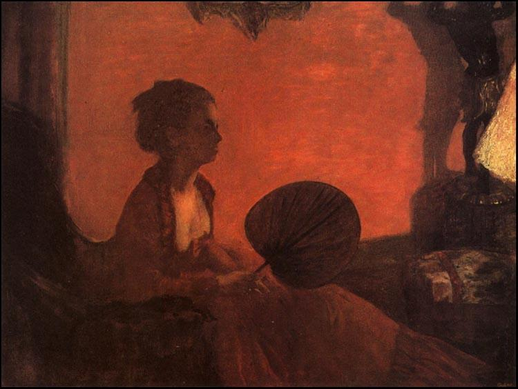Edgar Degas Madame Camus oil painting image