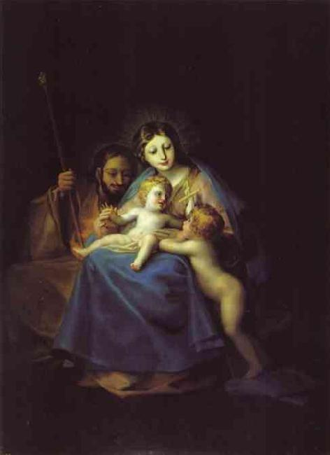 Francisco Jose de Goya The Holy Family oil painting image