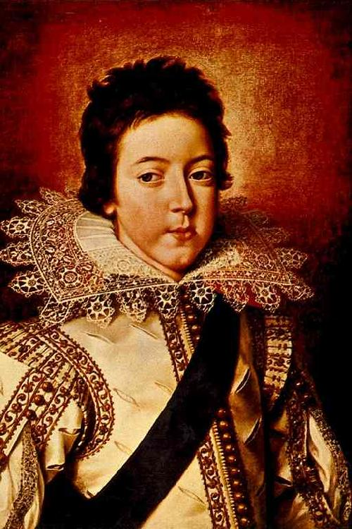 Frans Pourbus Louis XIII as the Dauphin oil painting image