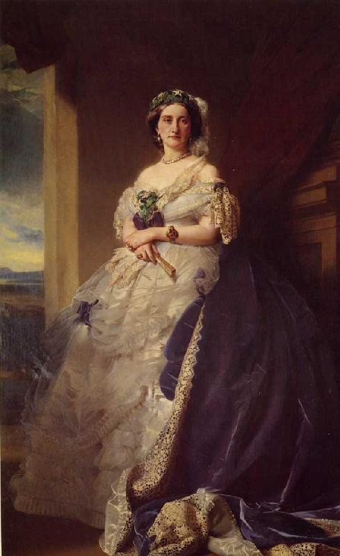 Franz Xaver Winterhalter Julia Louisa Bosville, Lady Middleton oil painting image