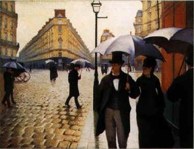 Gustave Caillebotte Paris Street, Rainy Weather oil painting image