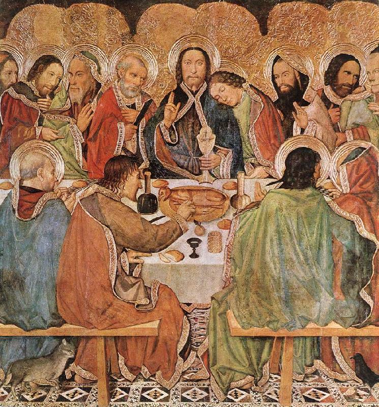 Hugo van der Goes Last Supper oil painting image