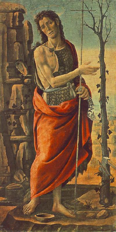 JACOPO del SELLAIO St John the Baptist f oil painting image