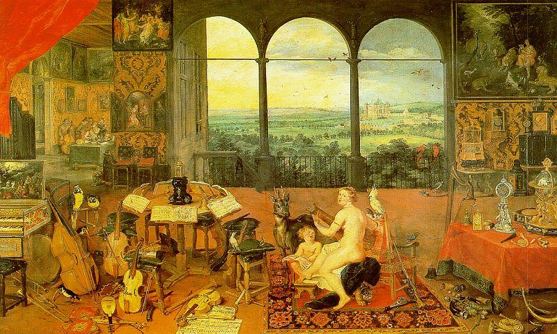 Jan Brueghel The Sense of Hearing oil painting image