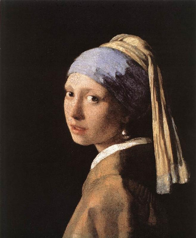 Jan Vermeer Girl with a Pearl Earring oil painting picture