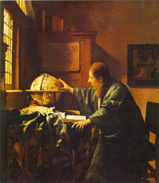 JanVermeer The Astronomer oil painting image