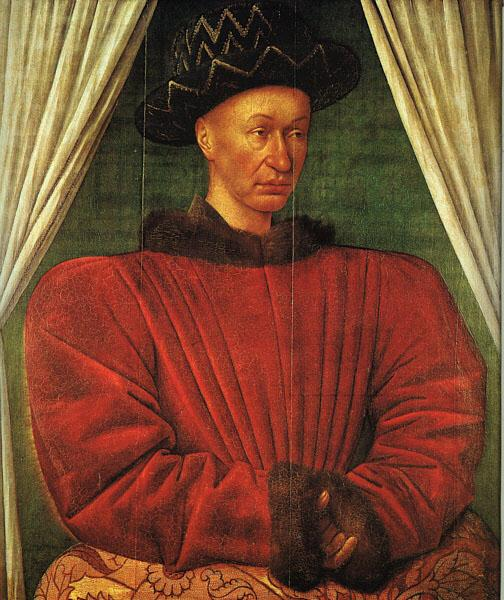 Jean Fouquet Charles VII of France oil painting image