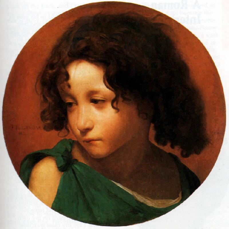 Jean Leon Gerome Portrait of a Young Boy oil painting image