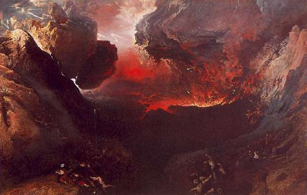 John Martin The Great Day of His Wrath oil painting image