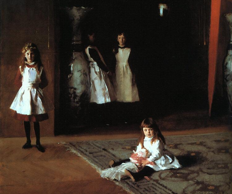 John Singer Sargent The Daughters of Edward Darley Boit oil painting image