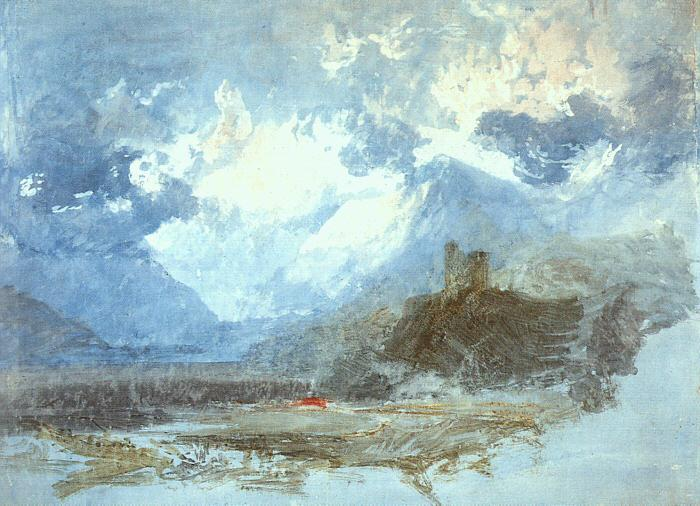 Joseph Mallord William Turner Dolbadern Castle oil painting image