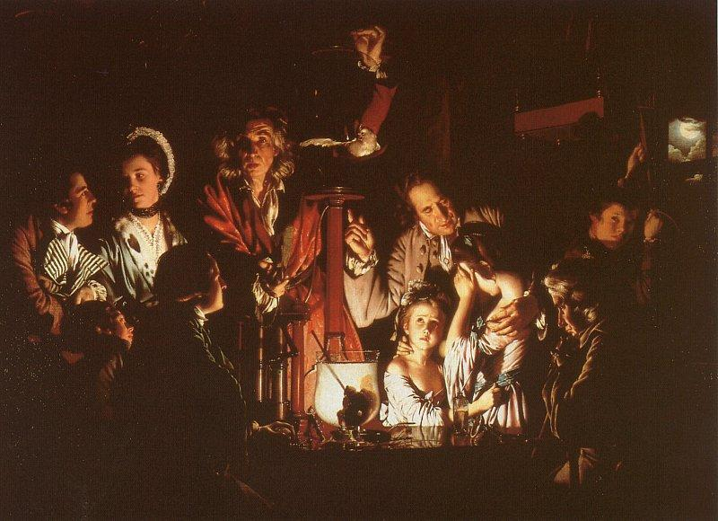 Joseph Wright Experiment with the Air-Pump oil painting image