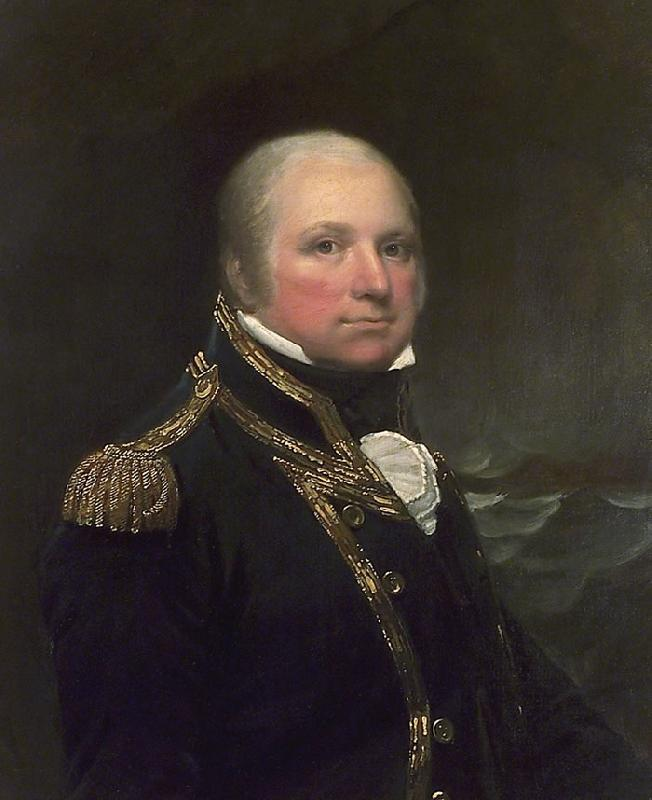 Lemuel Francis Abbott Captain John Cooke oil painting image