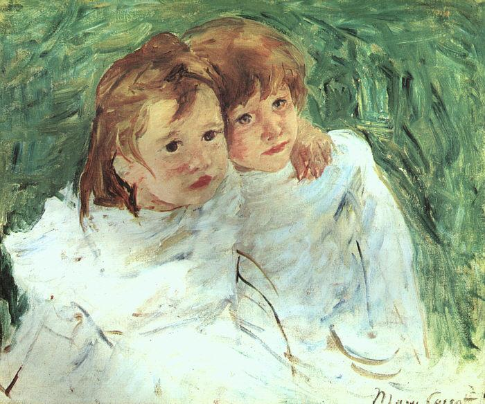 Mary Cassatt The Sisters oil painting image