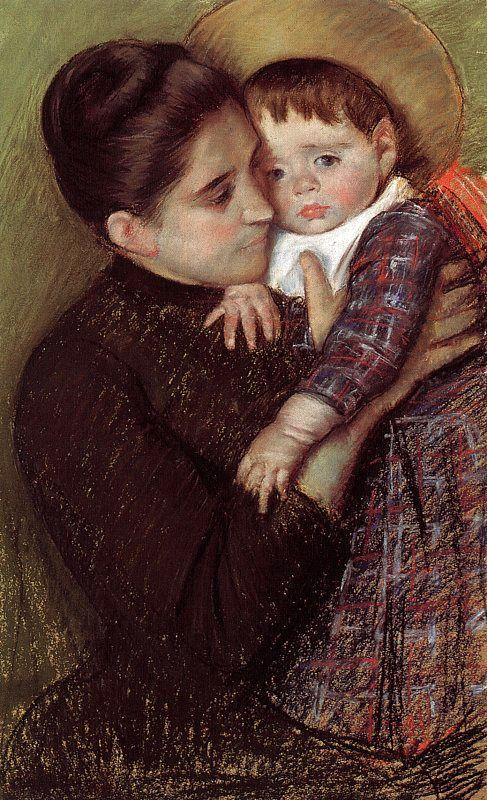 Mary Cassatt Helene Septeuil oil painting image