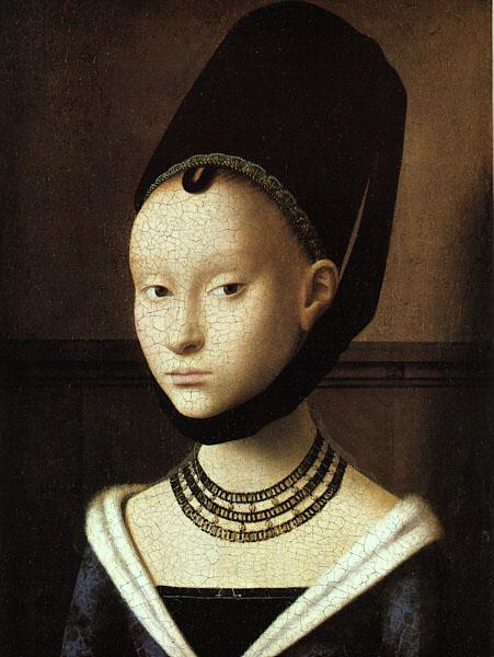 Petrus Christus Portrait of a Young Woman oil painting image