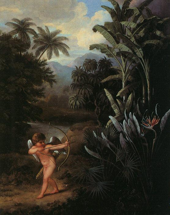 Philip Reinagle Cupid Inspiring the Plants with Love oil painting image