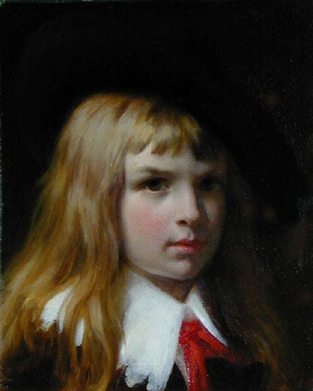 Pierre-Auguste Cot Little Lord Fauntleroy oil painting image