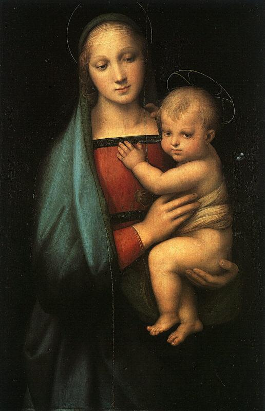 Raphael Madonna Child ff oil painting image