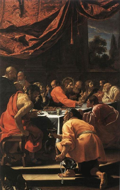 Simon Vouet The Last Supper oil painting image