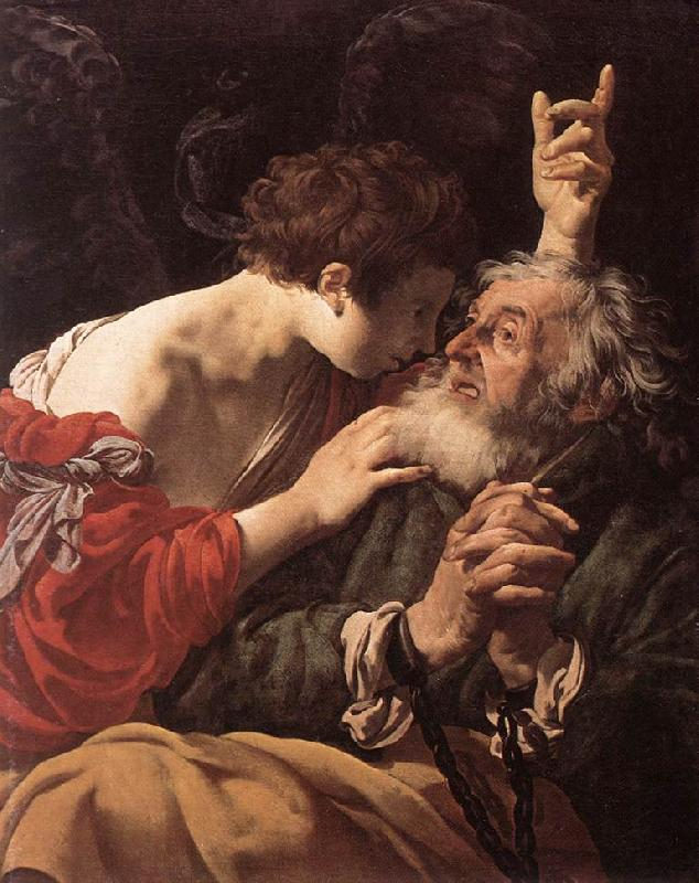 TERBRUGGHEN, Hendrick The Deliverance of St Peter ar oil painting image