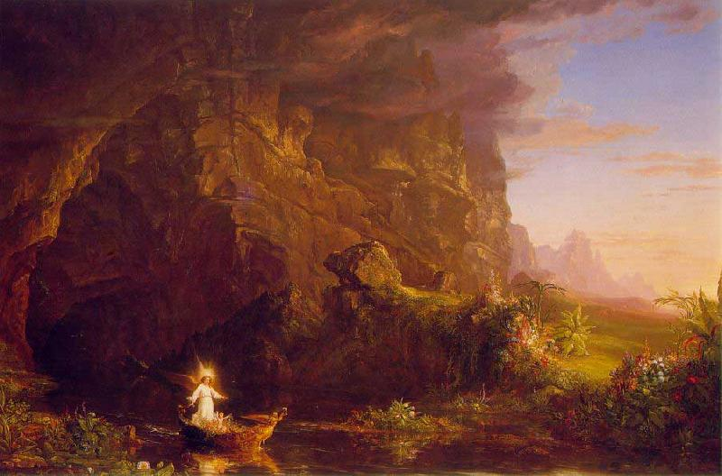 Thomas Cole The Voyage of Life: Childhood oil painting image