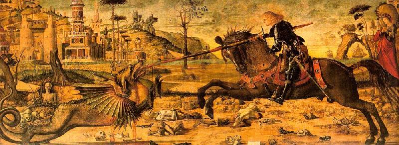 Vittore Carpaccio St.George the Dragon oil painting image