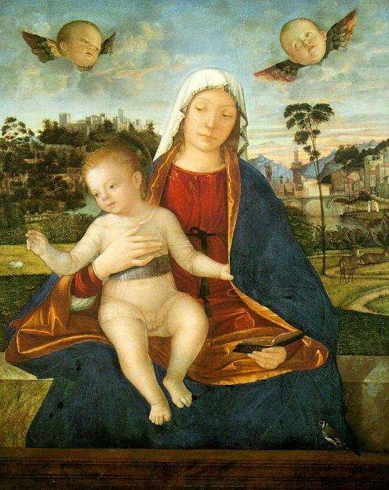 Vittore Carpaccio Madonna and Blessing Child oil painting image
