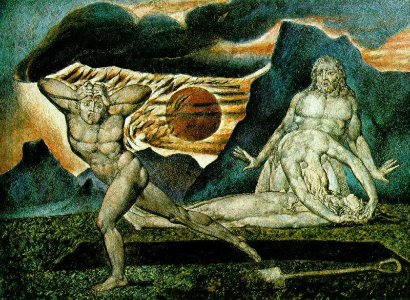 William Blake The Body of Abel Found by Adam and Eve oil painting image