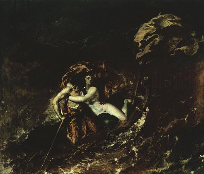 William Etty The Storm 7 oil painting image