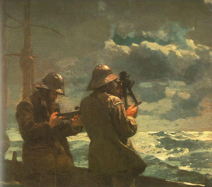 Winslow Homer Eight Bells oil painting image