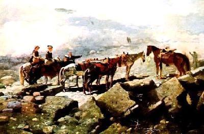 Winslow Homer Mt Washington oil painting image